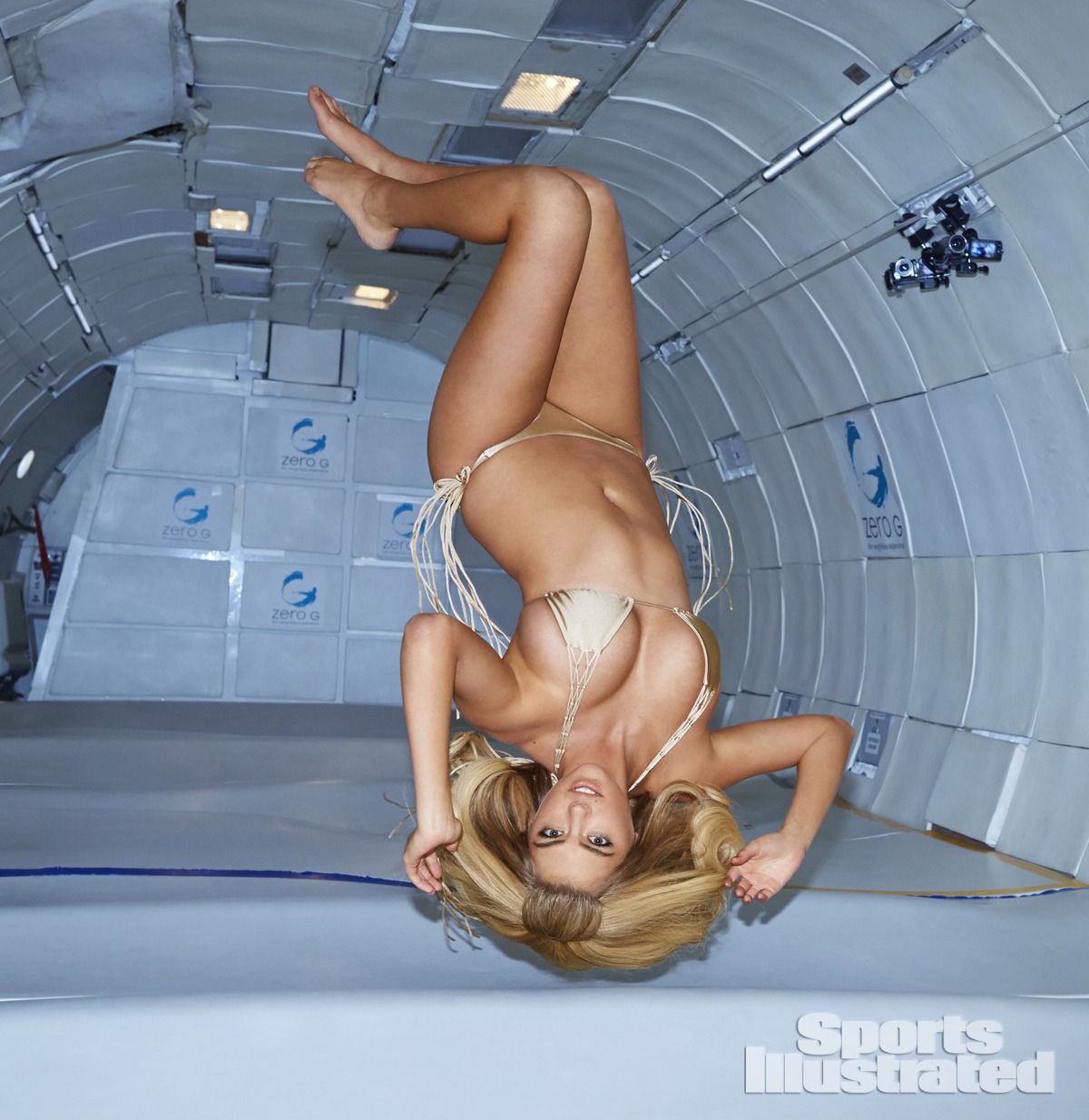 Kate Upton en apesanteur est le point culminant de milliers d'années de science - et de Sports Illustrated