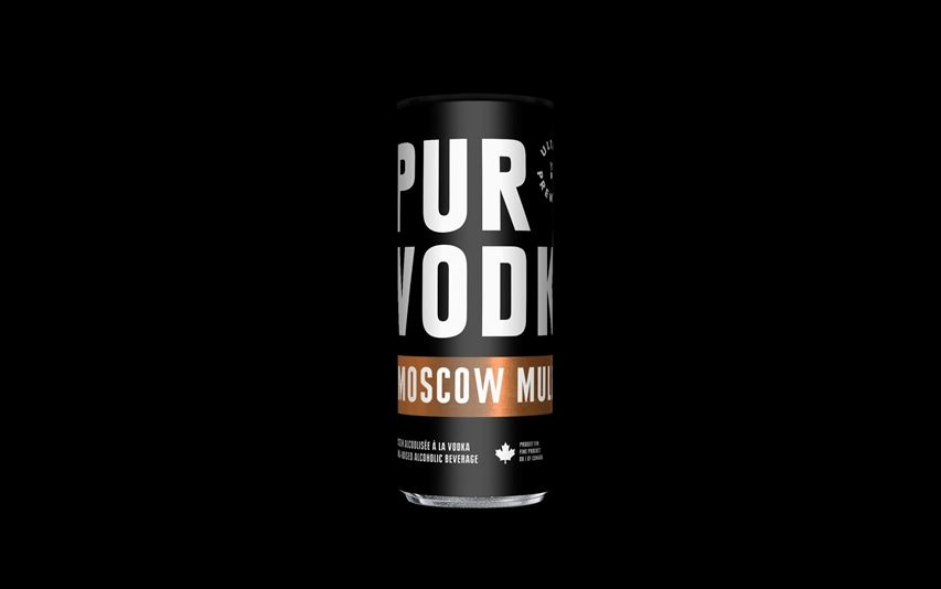 Pur Vodka annonce officiellement son 'Moscow Mule' en canette