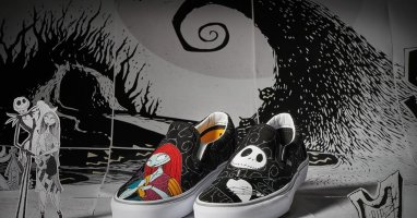 The Nightmare Before Christmas X Vans : une collection de chaussures inspirée du film culte de Tim Burton