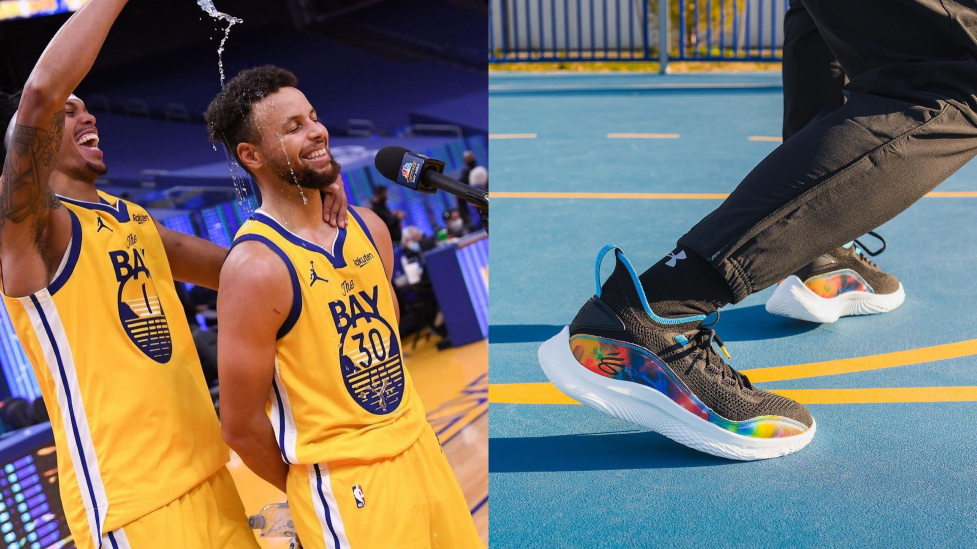 Stephen Curry lance ses chaussures de basket-ball, maintenant disponibles au Canada! [PHOTOS]